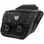 SADDLEBAG SLANT STUDDED